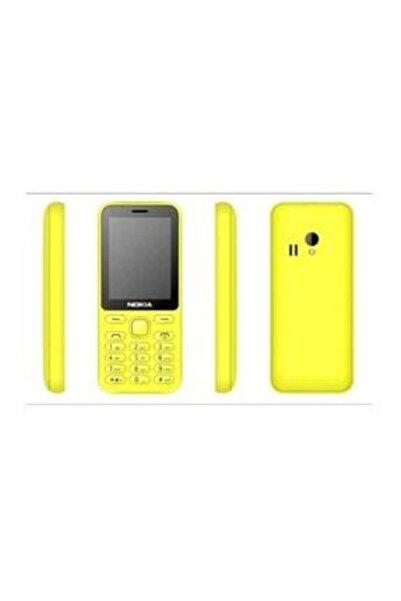 Nokia 500 Kamerasız Çift Hatlı Hafıza Kartlı Tuşlu Cep Telefonu Sarı