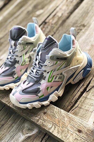 Guja 21y311 Kadın Fashion Sneaker Gri