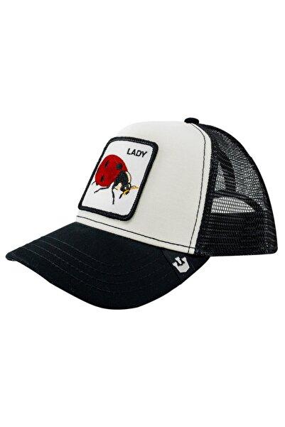 Goorin Bros Unisex Beyaz Lady Bug Şapka 101-0571