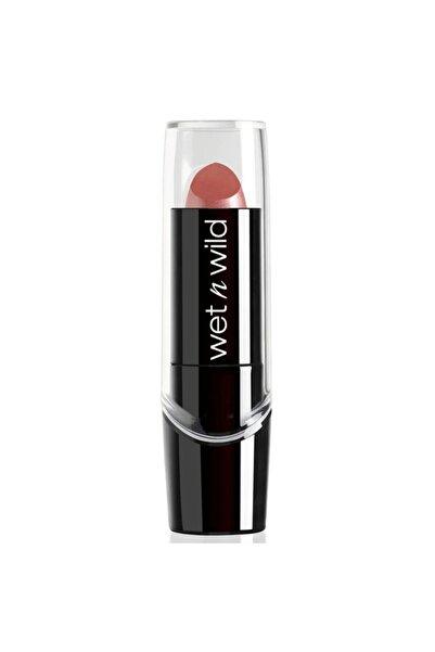 WET N WİLD Silk Finish Lipstick Ruj Dark Pink Frost E530d