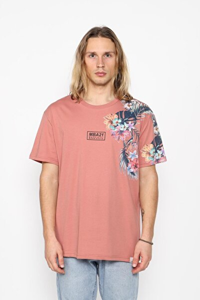 Oksit Erkek Flower Oversize T-shirt