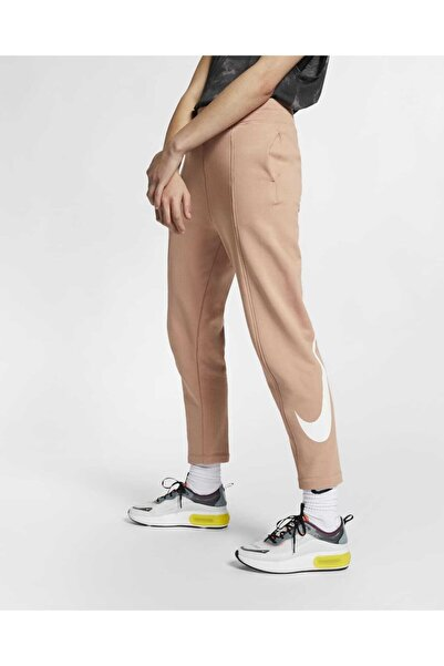Nike Kadın Yavru Ağzı Bol Kesim Swoosh Eşofman Altı