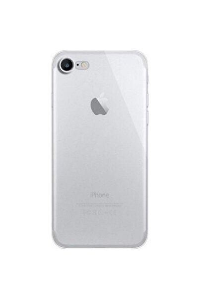 Go Aksesuar Apple Iphone 7 / 8 / Se 2020 Uyumlu Darbe Önleyici Kamera Korumalı Şeffaf Silikon Kılıf Aa Kalite