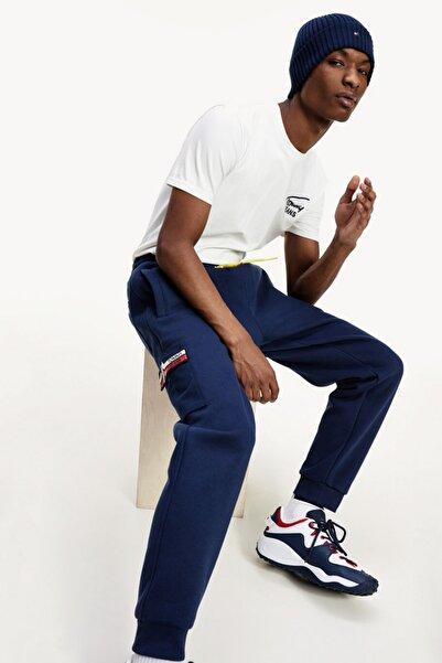 Tommy Hilfiger Erkek Mavi Pantolon Tjm Pocket Sweatpant DM0DM10513