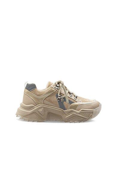 Pierre Cardin PC-30694 Bej Kadın Spor Ayakkabı