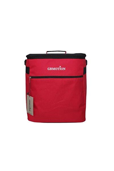 GBMOTION Kırmızı A Termal Çanta Soğuk Ve Sıcak Tutucu Çanta 25 Litre