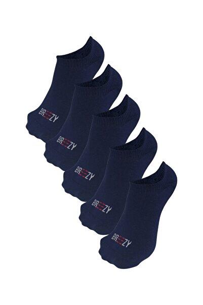 Özgür Çoraplar Kadın Lacivert Patik Çorap 5'li