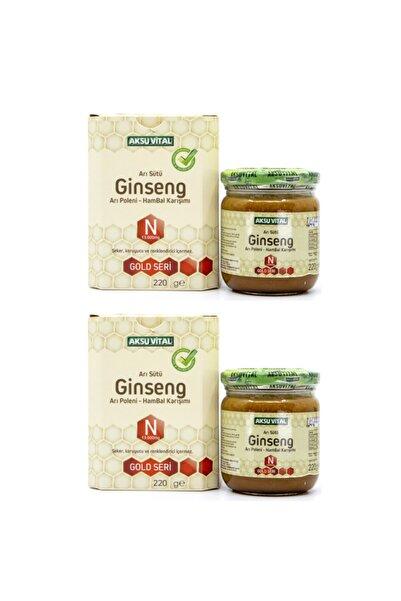 Aksu Vital Aksuvital Ginsengli Arı Sütü Bal Polen (n) 13.000 Mg. X 2 Adet