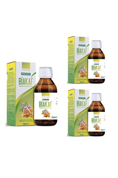 Aksu Vital Aksuvital Biakaff Kekik Içeren Sıvı Takviye Edici Gıda X 3 Adet