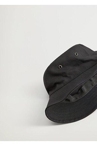 MANGO Man Pamuklu Bucket Şapka