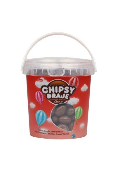 Elvan Bonbon Chıpsy Kakao Kaplı Bisküvi Draje 400 gr (1 ADET)