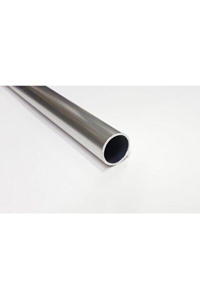 Şahin Alüminyum Yuvarlak Boru Renk Gri Uzunluk 100 cm Dış Çap 16 mm