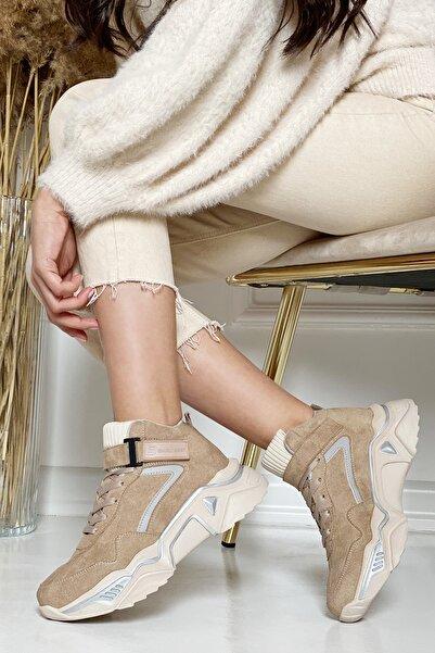 DARK SEER Bej Kadın Sneaker