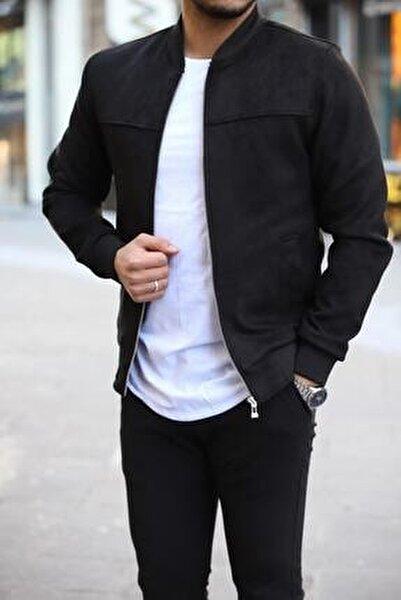 Erkek Siyah Süet Ceket