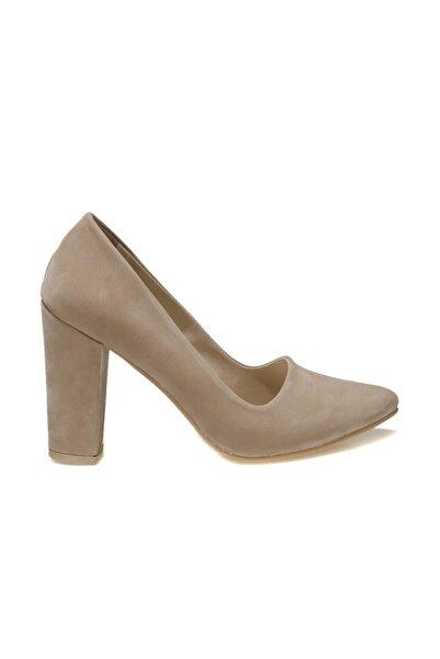 Butigo Jessica 1fx Bej Kadın Gova Ayakkabı
