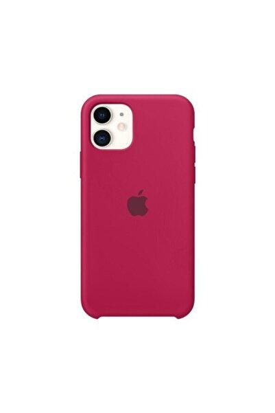 Nezih Case Bordo Iphone 11 Silikon Kılıf