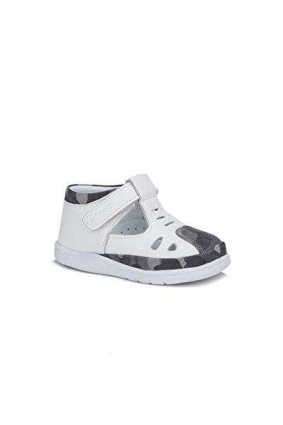 Vicco Unisex Bebek Ilk Adım Deri Ayakkabı 918.e20y.047 Beyaz