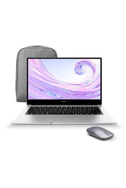 """Huawei Matebook D 14 AMD Ryzen 7-3700U 8 GB 512 GB SSD 14"""" W10 Taşınabilir Bilgisayar + Çanta ve Mouse"""