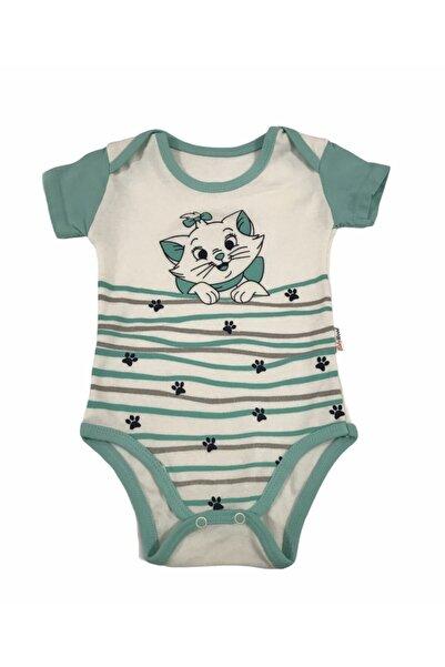 Baby Wood Kız Bebek Turkuaz  Takım 2'li