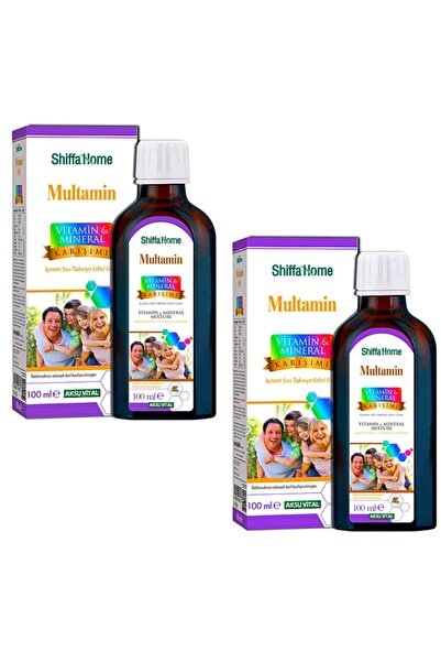 Shiffa Home Multamin Vitamin & Mineral Karışımı x 2 Adet