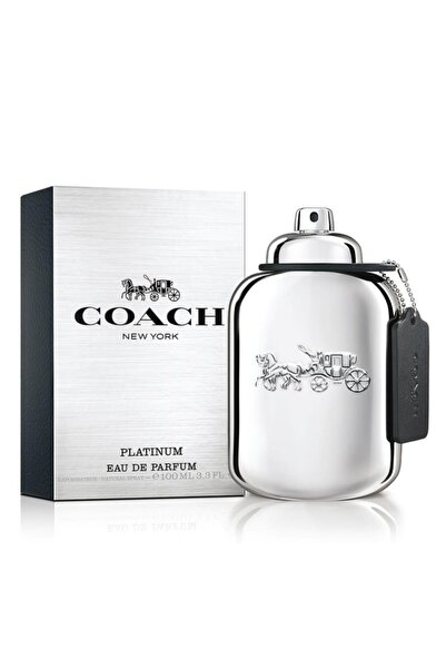 Coach New York Platinium Edp 100 ml Erkek Parfüm 9859869879881-3756