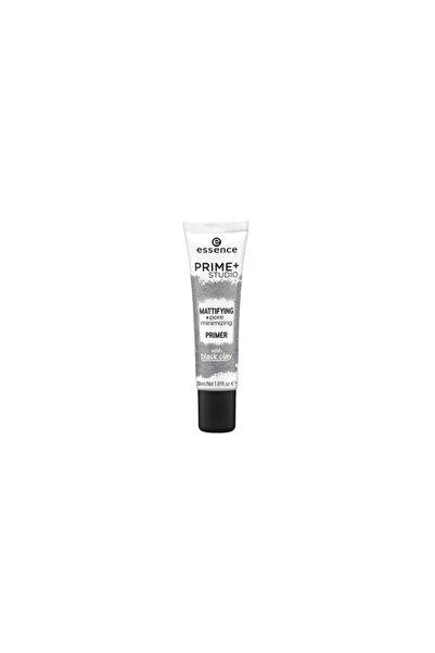 Essence Matlaştırıcı Makyaj Bazı - Prime Studio Mattifying Pore Minimizing Primer 30 ml 4059729038579