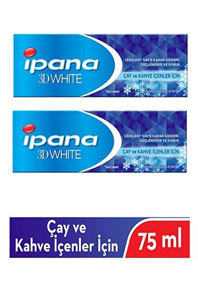 İpana Diş Macunu 3d White Beyazlık Çay Ve Kahve Içenler Için 75 Ml X 2 Adet