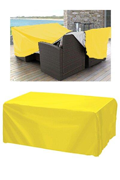 CoverPlus Su Geçirmez Bahçe Mobilya Koruma Örtüsü Branda 300x200x80 cm