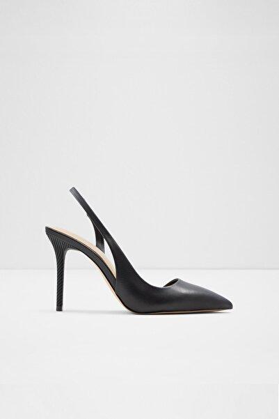 Aldo Kadın Siyah Deri Topuklu Ayakkabı