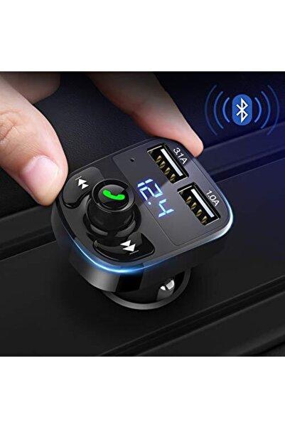 Engpars Oto Çakmaklık Araç Kiti X9 Transmitter Bluetooth-çağrı-müzik-fm Tüm Akıllı Telefonlar Için Uyumlu 2