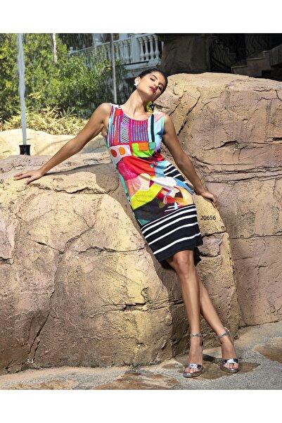 DCZ FASHION Pens Detaylı Elbise