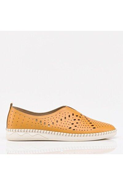Hotiç Hardal Yaya Kadın Günlük Ayakkabı