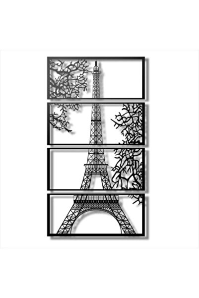 NTEY Ahşap 3 Boyutlu Eyfel Kulesi Tablo