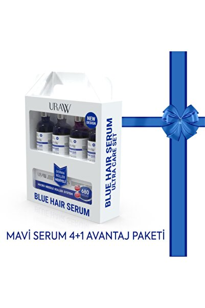 Uraw Mavi Serum 4+1 Paketi