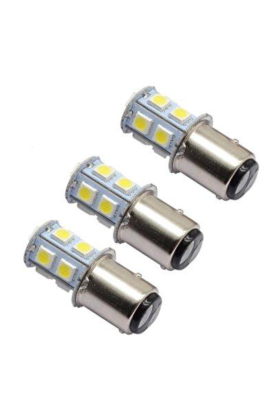 ModaCar 1 Yedekli 1157-1016 Tip Flaşlı 13 Beyaz Led Ampül 428450