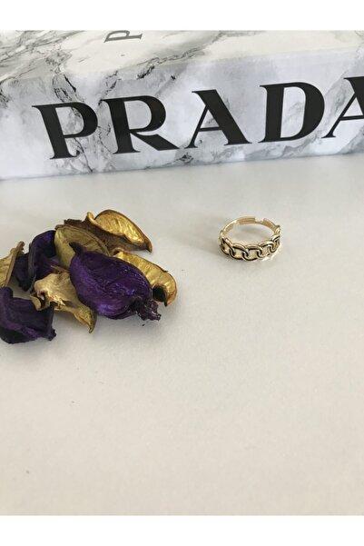 Bracelet Gold Samanyolu Ayarlanabilir Yüzük