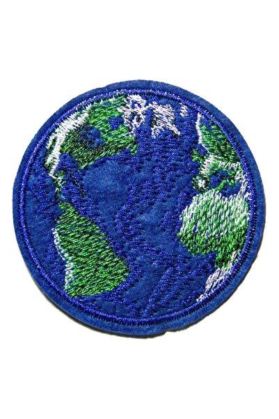 HALFART Dünya Arma Yama Patch Sticker (ütüyle Yapışan Arma)