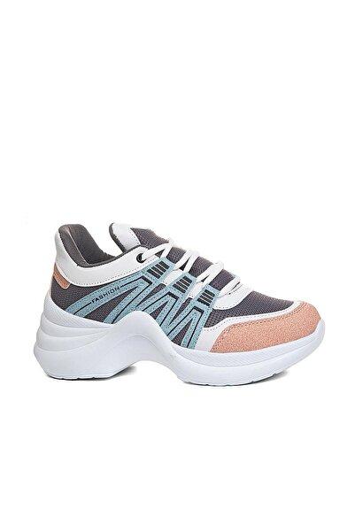 Twingo Kadın Renkli Yürüyüş Spor Ayakkabısı