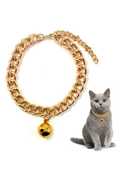 Tbt Tasarım Gold Altın Kaplama Kedi Kolyesi