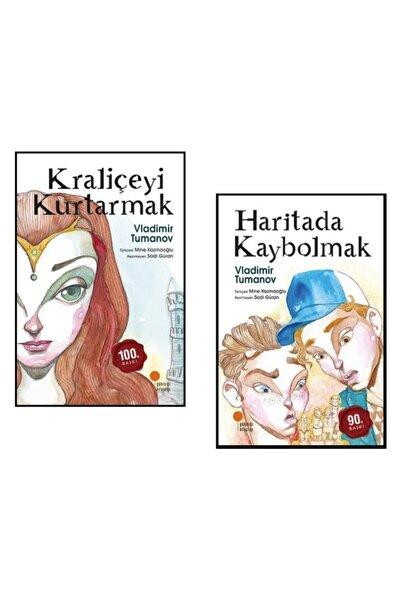 Günışığı Yayınları Kraliçeyi Kurtarmak Ve Haritada Kaybolmak 2 Roman Seti - Vladimir Tumanov -