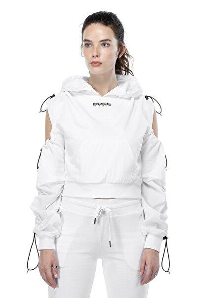 Ruck & Maul Kadın Sweatshirt 21060 1000 - Beyaz