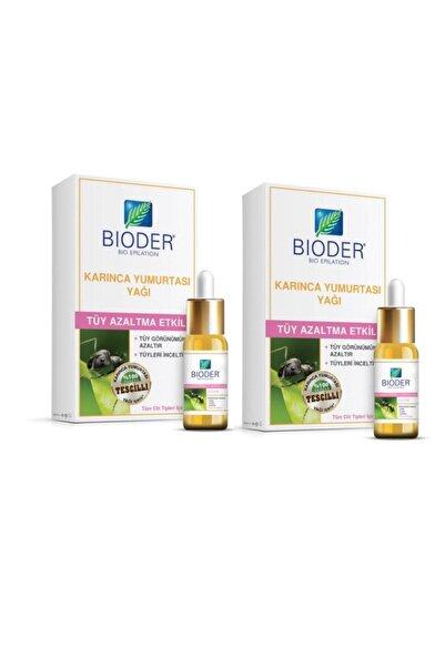 Bioder Tüy Azaltıcı Karınca Yumurtası Yağı 30 ml X 2 Adet