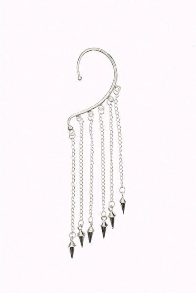 New Obsessions Kadın Gümüş Basil Küpe 4473