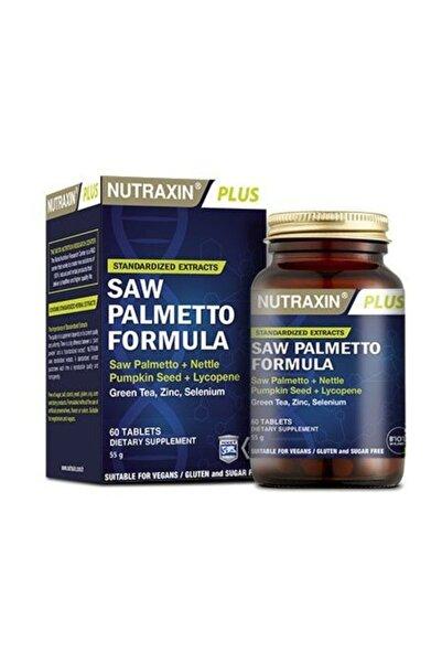Nutraxin Saw Palmetto Formula 60 Tablet Skt 03.2023