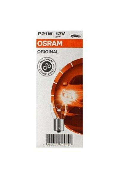 Osram 12v 93 P21w Stop Sinyal Ampulü Düz Tırnak 10 Adet 7506