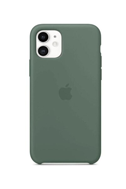 Nezih Case Iphone 11 Silikon Kılıf Çam Yeşili