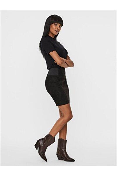 Vero Moda Kadın Siyah Etek