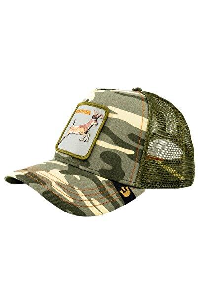 Goorin Bros Unisex Asker Yeşili 4 Points Şapka 101-6092