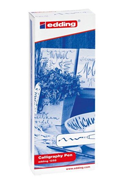 Edding 1255 Kaligrafi Kalemi - Hobi Sanat Kalemi 2.0mm Bordo