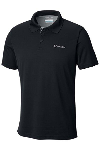 Columbia Aj0126-010 Utilizer Polo Erkek Siyah  T Shirt 1772056010